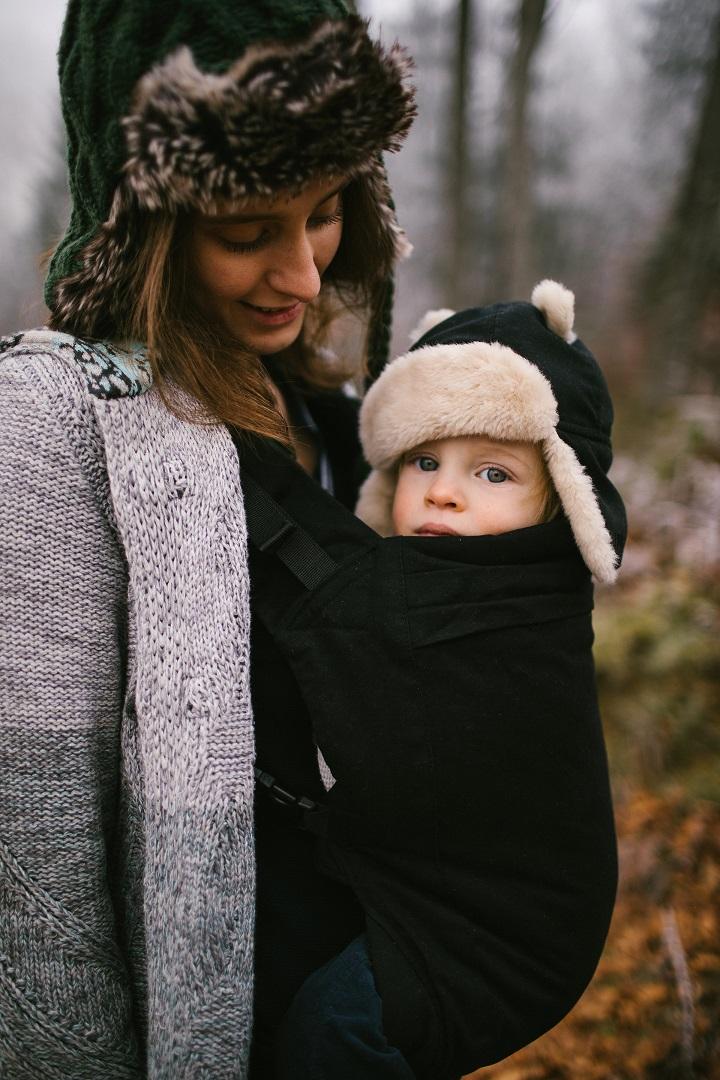 57592f525c8 Mochila ergonomica Beco Toddler Metro Black - Momawo - Babywearing Coats